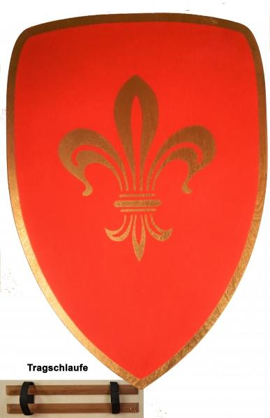Schild, rot
