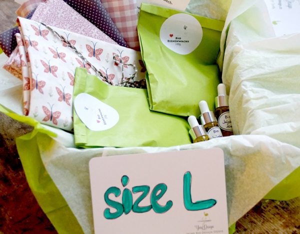 Bio Bienenwachstücher DIY Kit - Size L