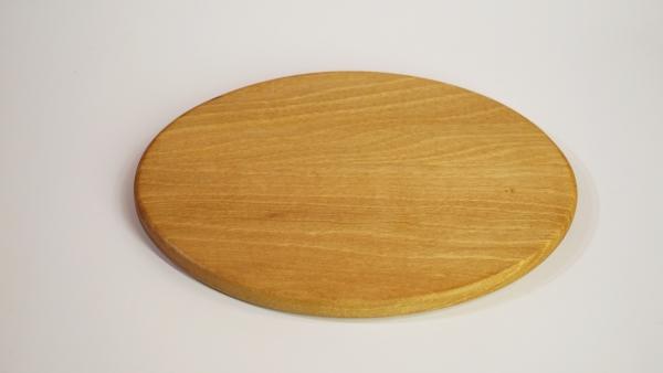 Vesperbrett oval, Nussbaum Splintholz