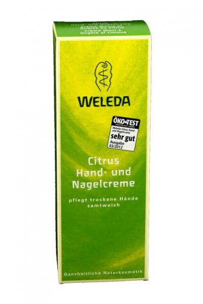 Citrus Hand- und Nagelcrème
