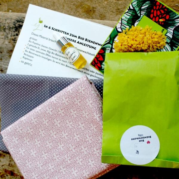 Bio Bienenwachstücher DIY Kit - Size S