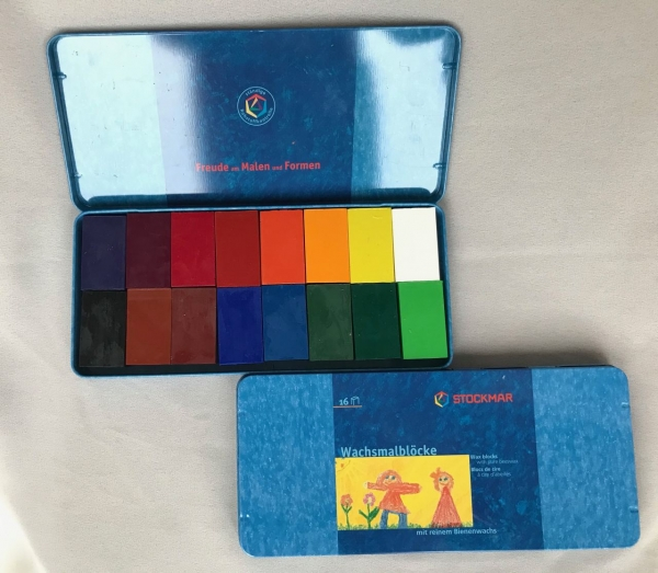 Stockmar, Wachs-Malblöcke 16 Farben