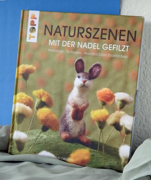 """Filzbuch """"Naturszenen mit der Nadel gefilzt"""""""