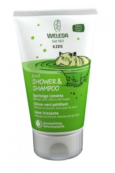 2 in 1 Shower & Shampoo Spritzige Limette