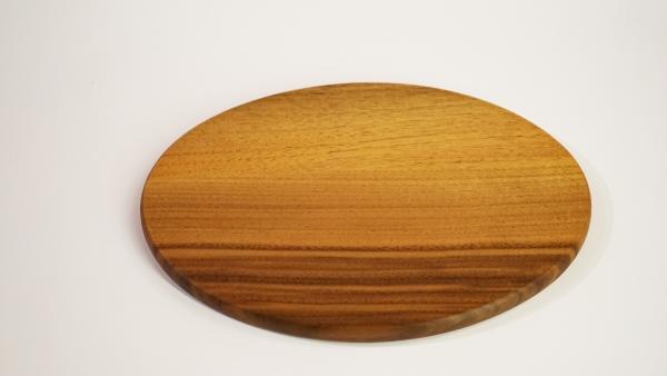Vesperbrett oval, Nussbaum
