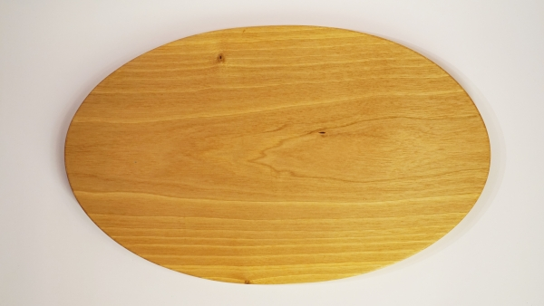 Zopfbrett oval, Nussbaum