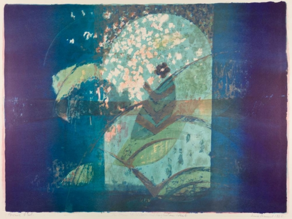 Farblithographie, Irma Bamert
